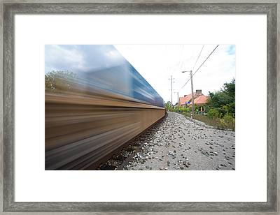 Where The Day Takes You Framed Print by Jimmy Taaffe