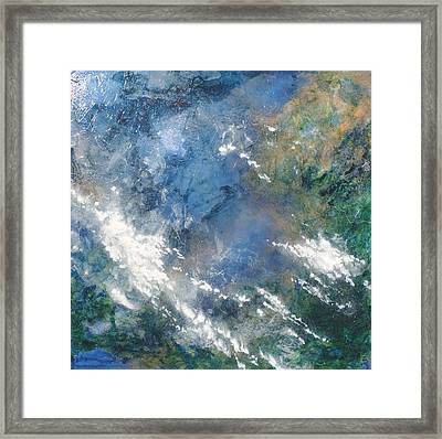 Where The Earth Meets The Sky Framed Print by Carlynne Hershberger