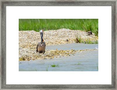 Framed Print featuring the photograph Where The Heart Is by Steven Santamour