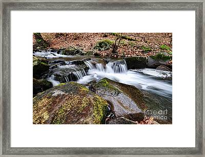 Where The River Flows Framed Print by Paul Ward