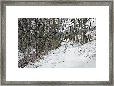 Where The Road May Take You Framed Print