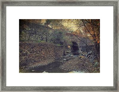 Where The Story Begins Framed Print by Laurie Search