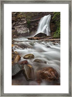Where The Water Goes Framed Print by Jon Glaser