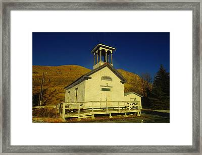 Where They Sang Amazing Grace Framed Print