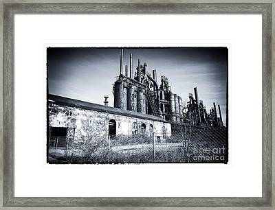 Where They Worked Framed Print by John Rizzuto
