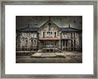 Where Time Stands Still Framed Print by Yelena Rozov