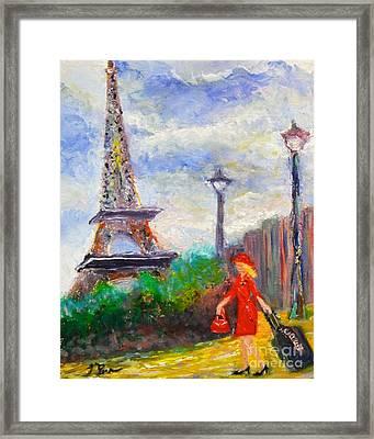 Where To .... Paris  Framed Print