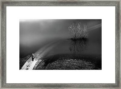 Where To Go? Framed Print