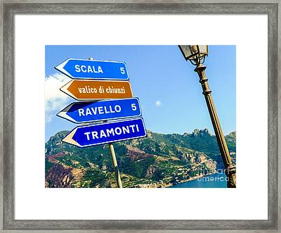 Framed Print featuring the photograph Where To Go Next by Mike Ste Marie