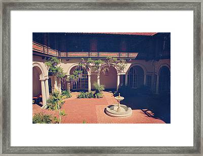 Where We Once Danced Framed Print by Laurie Search