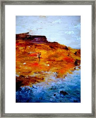 Where We Used To Go Framed Print by Guillermo De Llera