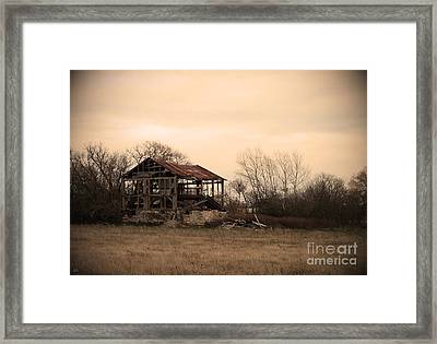 Where We Used To Play Framed Print by Debi Dmytryshyn