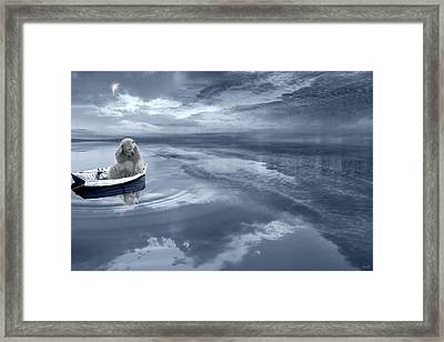 Where's The Fish Framed Print by Lourry Legarde