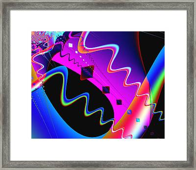Where's The Party Framed Print by Wendy J St Christopher