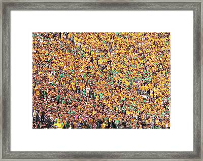 Where's Waldo Framed Print by David Bearden
