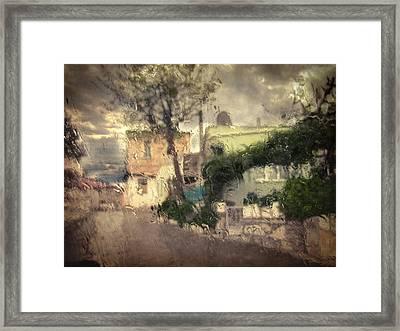 Wherever I Go Framed Print by Taylan Apukovska