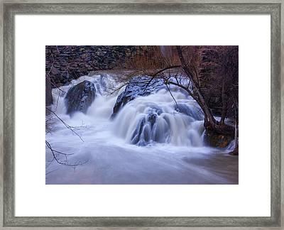 Whetstone Roaring Framed Print