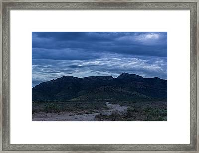 Framed Print featuring the photograph Whetstones At Dusk by Beverly Parks