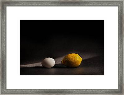 Which Came First Framed Print