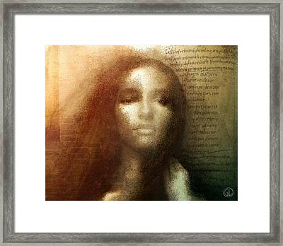 Which Is My Fate Framed Print by Gun Legler