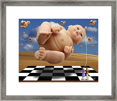 Which One Framed Print by Keith Dillon