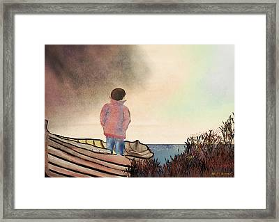 Which Way Home Framed Print