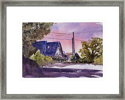 Whidbey Getaway Framed Print by Barry Jones