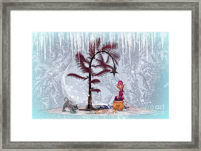 Whimsical Christmas Framed Print