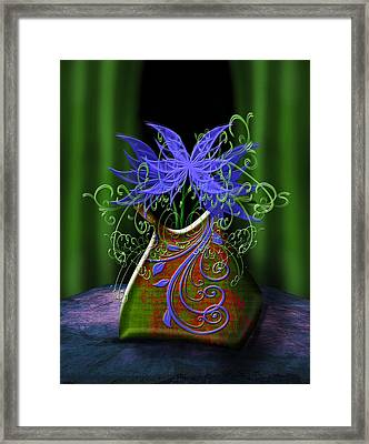 Whimsical Floral Framed Print