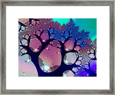 Whimsical Forest Framed Print by Anastasiya Malakhova