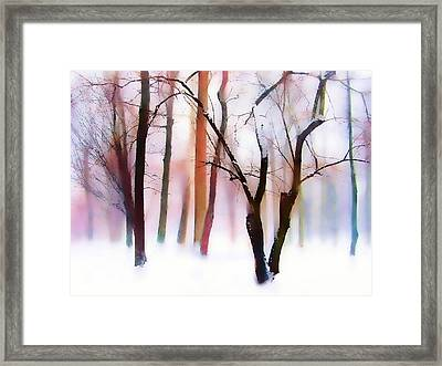 Whimsical Winter Framed Print by Jessica Jenney