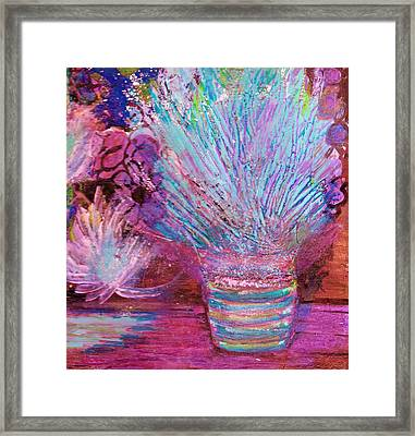 Whimsy Of My Imagination Framed Print by Anne-Elizabeth Whiteway