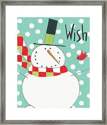 Whimsy Winterland IIi Framed Print