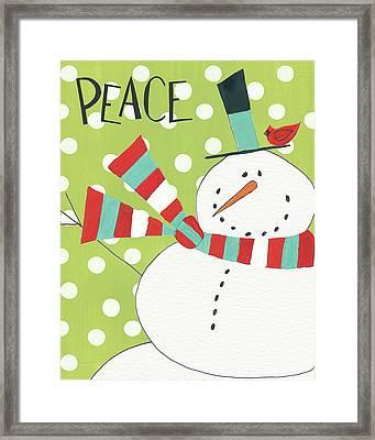 Whimsy Winterland Iv Framed Print