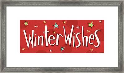 Whimsy Winterland Viii Framed Print