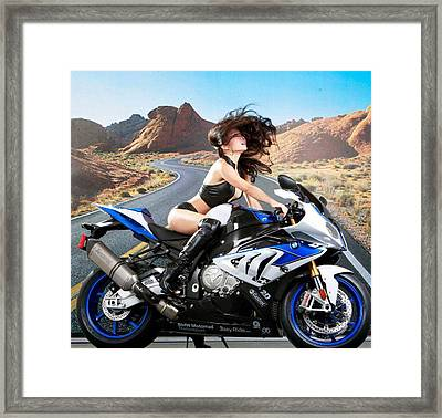 Whip It Framed Print by Lawrence Christopher