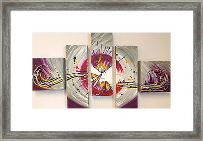 Whiplash Framed Print