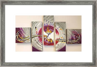 Whiplash Framed Print by Darren Robinson