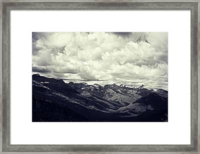 Whipped Cream Framed Print by Leanna Lomanski