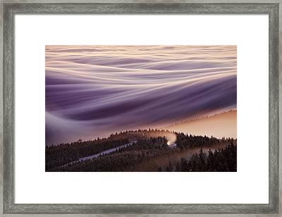 Whipped Cream Framed Print