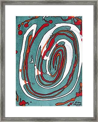 Whirl 2 Framed Print