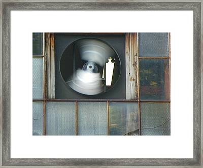 Whirl Framed Print by Bernie Smolnik