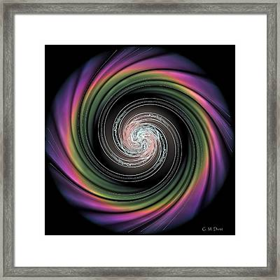 Whirl Wind Meditation Framed Print by Michael Durst