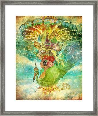Whirligig Framed Print by Aimee Stewart