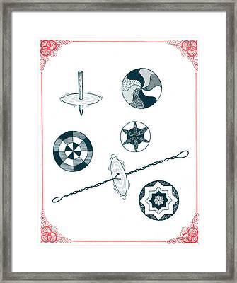 Whirligigs Framed Print