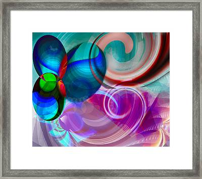 Whirling Framed Print by Camille Lopez