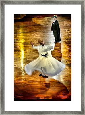 Whirling Dervish - 6 Framed Print by Okan YILMAZ