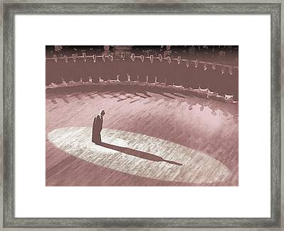 Whirling Dervish - 7 Framed Print by Okan YILMAZ