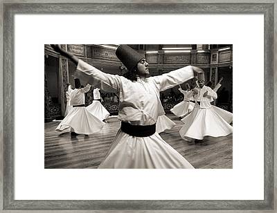 Whirling Dervishes Framed Print