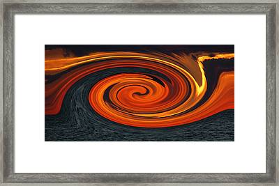 Whirlpool Framed Print by Aimee L Maher Photography and Art Visit ALMGallerydotcom